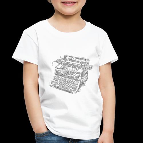 Typewritten Logophile - Toddler Premium T-Shirt