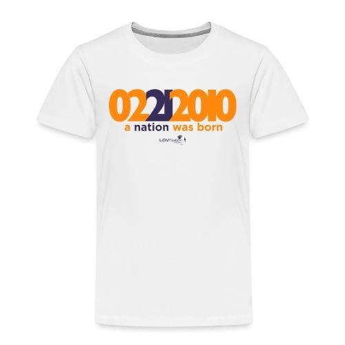 Anniversary Shirt - Toddler Premium T-Shirt