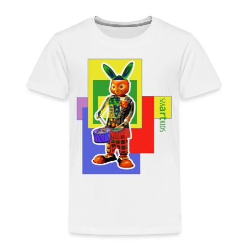 smARTkids - Slammin' Rabbit - Toddler Premium T-Shirt