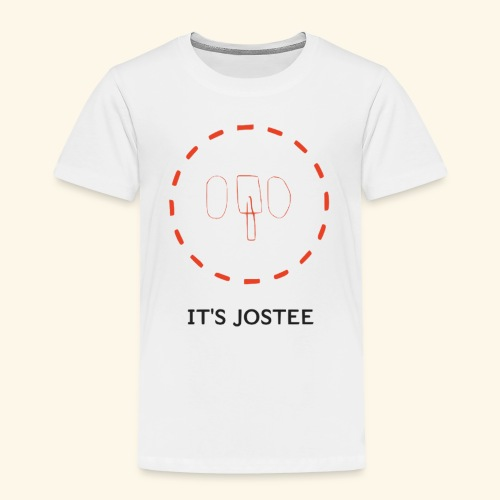 It's jostee NeonElephant. - Toddler Premium T-Shirt