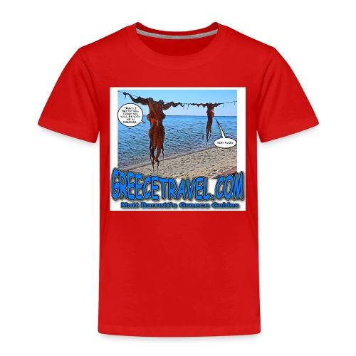 Comic Octopus 2 jpg - Toddler Premium T-Shirt