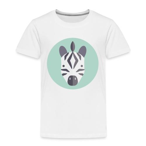 Zebra - Toddler Premium T-Shirt