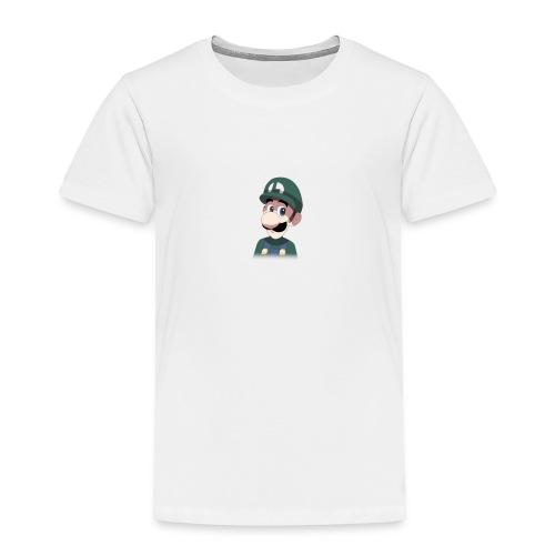 Luigi from (Mario)The Music Box By Team Ari - Toddler Premium T-Shirt