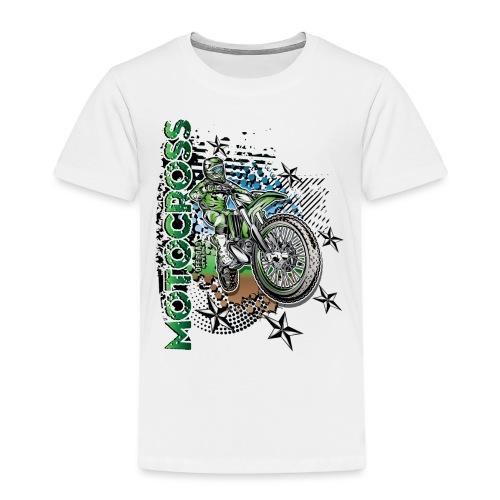 Kawasaki Dirt Bike Shirt - Toddler Premium T-Shirt
