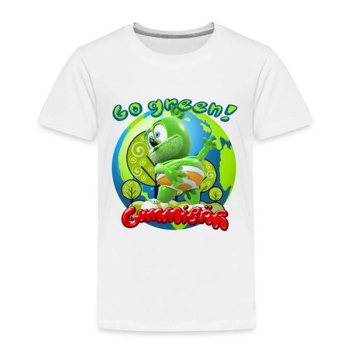 Gummibär Go Green Earth Day Earth - Toddler Premium T-Shirt