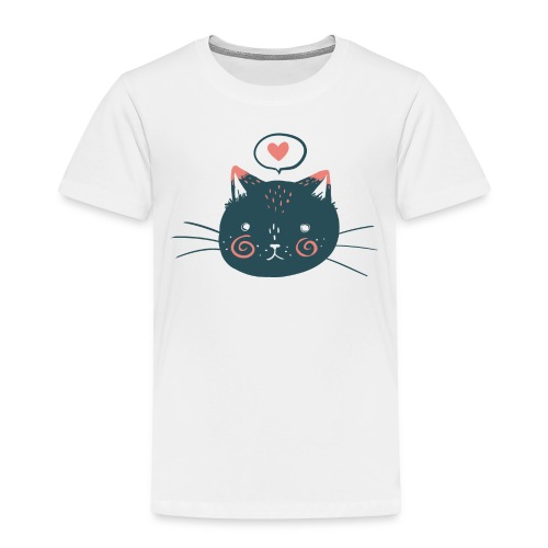 Cat Face by Kelsey King - Toddler Premium T-Shirt