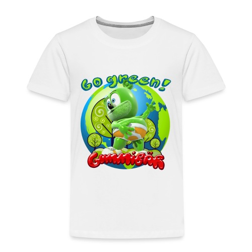 Gummibär Go Green Earth Day Earth - Toddler Premium T-Shirt