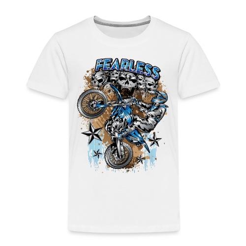 Fearless Motocross Yamaha - Toddler Premium T-Shirt