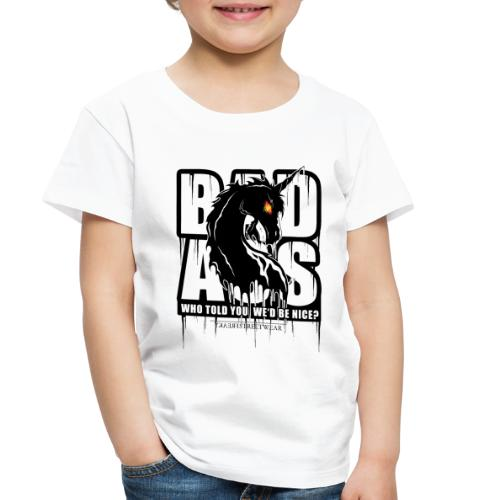 Bad Ass Unicorn - Toddler Premium T-Shirt