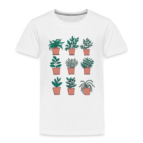 Flowerpots - Toddler Premium T-Shirt