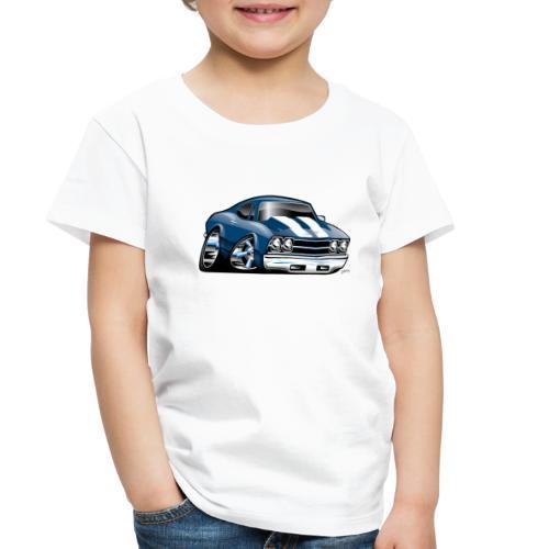 69 Muscle Car Cartoon - Toddler Premium T-Shirt