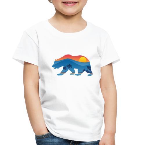 California Bear - Toddler Premium T-Shirt