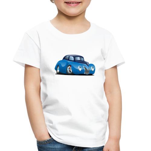 Classic 39 Street Rod Coupe Custom Car Cartoon - Toddler Premium T-Shirt