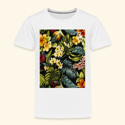 Flower BB - Toddler Premium T-Shirt