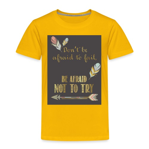 Follow dreams - Toddler Premium T-Shirt