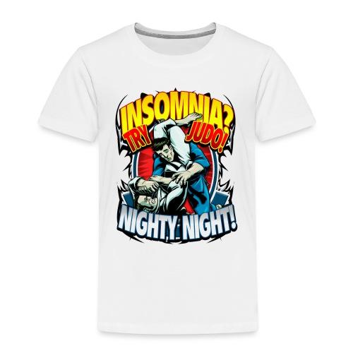 Insomnia Judo Design - Toddler Premium T-Shirt