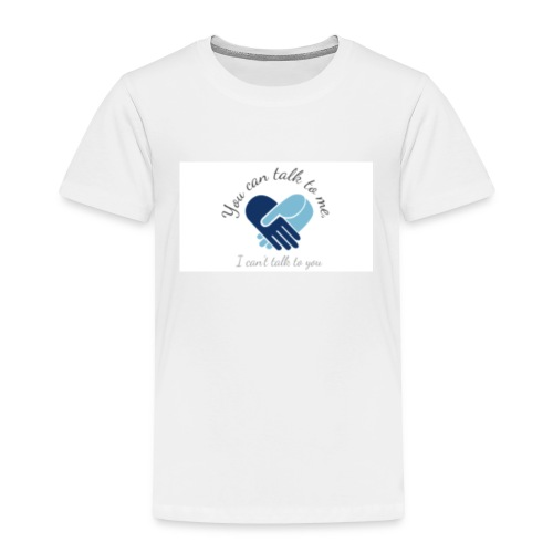 Selective Mutism Whose Choice Logo - Toddler Premium T-Shirt
