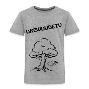 BOY FALLS FROM TREE - Toddler Premium T-Shirt