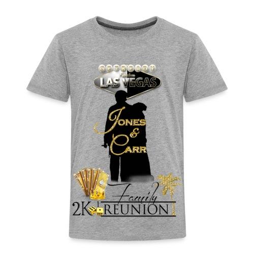 Jones Reunion 2K17 - Toddler Premium T-Shirt