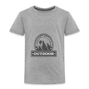 OUTDOOR MOUNTAIN CAMPING Motivational - Toddler Premium T-Shirt