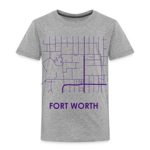 Fort Worth Streets - Toddler Premium T-Shirt
