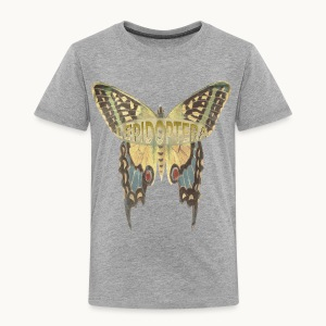 BUTTERFLY-LEPIDOPTERA-PASTEL-Carolyn Sandstrom - Toddler Premium T-Shirt