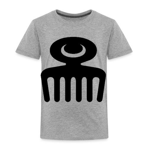 DUAFE Wooden Comb - Toddler Premium T-Shirt