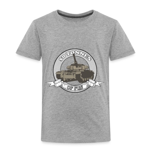 Centurion: 50 Tonnes of Fun - Toddler Premium T-Shirt