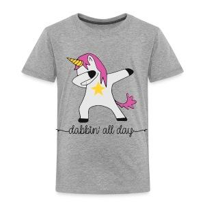 dabbing unicorn - Toddler Premium T-Shirt