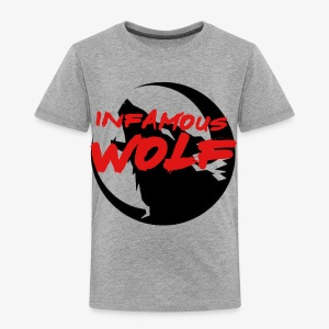 Infamous Wolf shirt(kid) - Toddler Premium T-Shirt