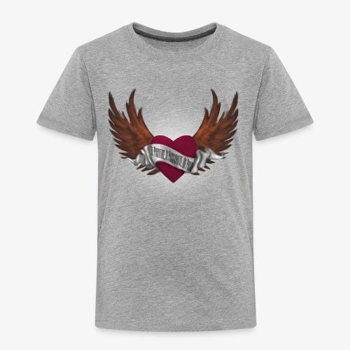 Never again memorial heart - Toddler Premium T-Shirt