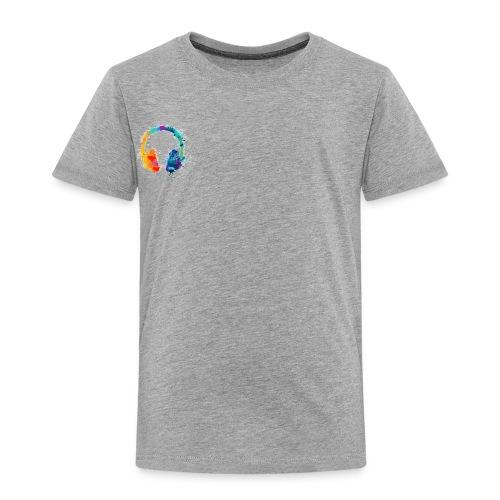 Colourful headset - Toddler Premium T-Shirt