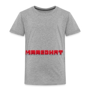 MrRedHat Plain Logo - Toddler Premium T-Shirt