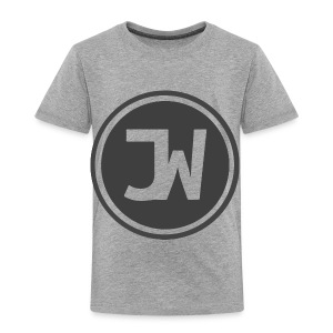 Grey Johannes With Logo - Toddler Premium T-Shirt