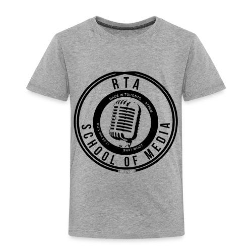 RTA School of Media Classic Look - Toddler Premium T-Shirt