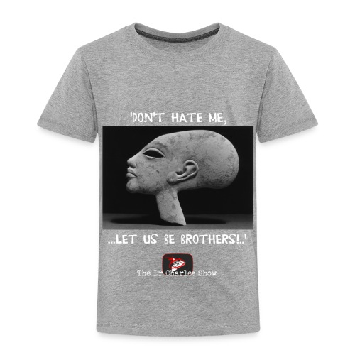 Don't Hate me! Let us be Brothers! - Toddler Premium T-Shirt