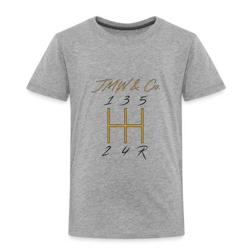 JWM and Co Shift Knob - Golden Standard - Toddler Premium T-Shirt