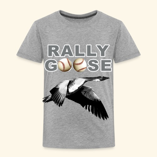Detroit Rally Goose Baseball Lucky Charm Design - Toddler Premium T-Shirt