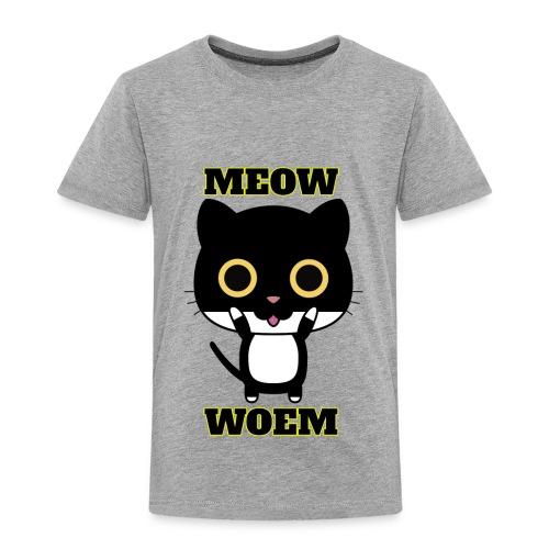 MEOW CAT T-SHIRT - Toddler Premium T-Shirt