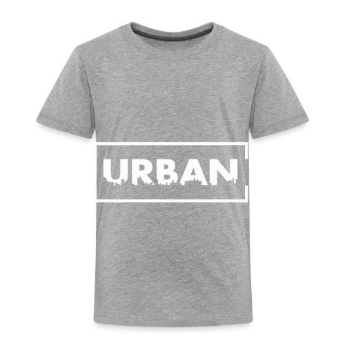 Urban City Wht - Toddler Premium T-Shirt