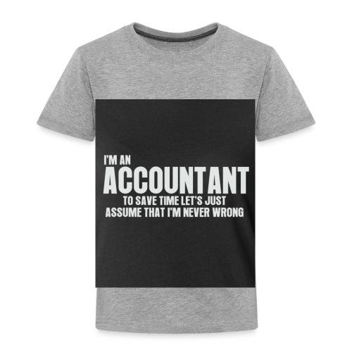 accountant - Toddler Premium T-Shirt