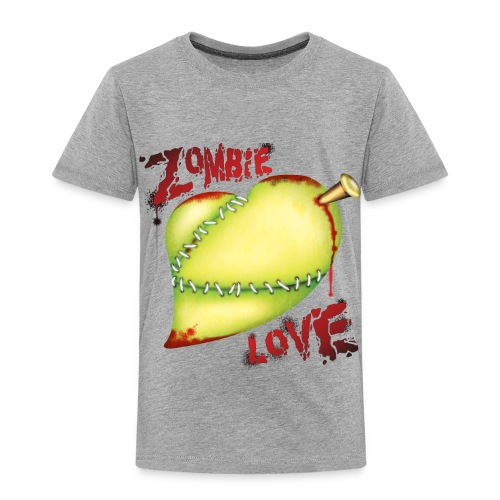 Zombie Love T Shirt - Toddler Premium T-Shirt