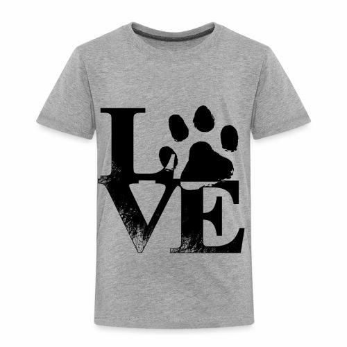 Luv Paw Print - Toddler Premium T-Shirt