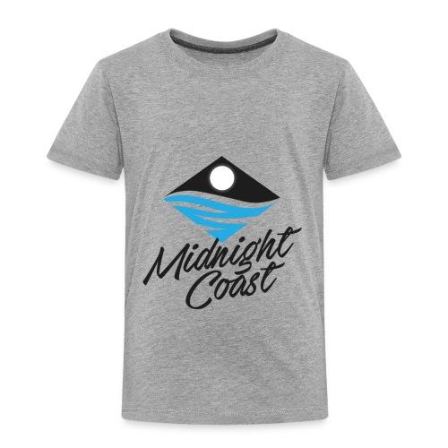Midnight Coast Logo - PLUS Size Store - Toddler Premium T-Shirt