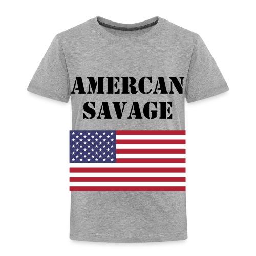 American Savage Shirt - Toddler Premium T-Shirt