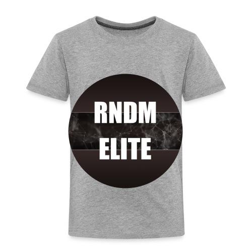 RNDM Elite logo - Toddler Premium T-Shirt