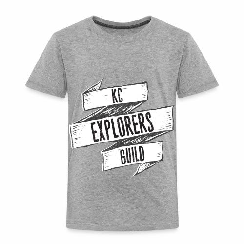 KCEG 3 Ribbon Logo - Toddler Premium T-Shirt