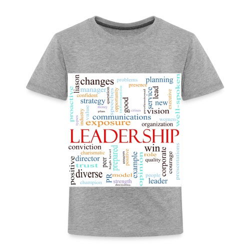 Leadership WORDLE - Toddler Premium T-Shirt
