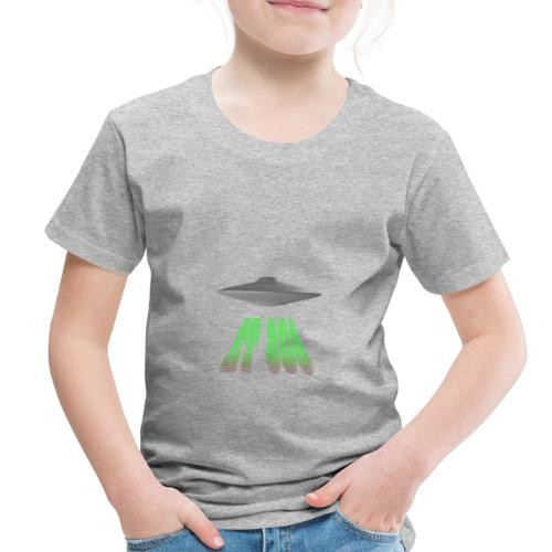 ET 808 'UFO Green' Logo - Toddler Premium T-Shirt
