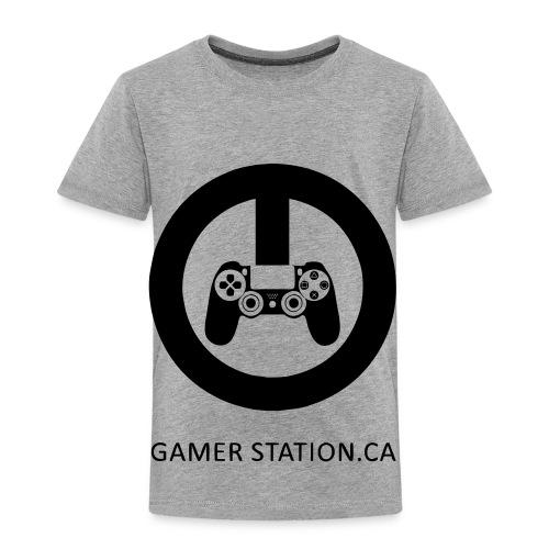 GamerStation.ca logo - Toddler Premium T-Shirt